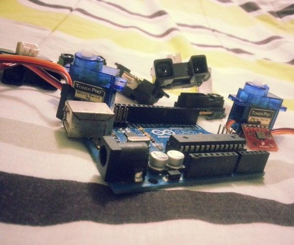 123D- Beginners First PCB for Arduino SERVO/SENOR BOARD