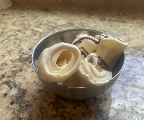 Rolled Ice Cream Treat