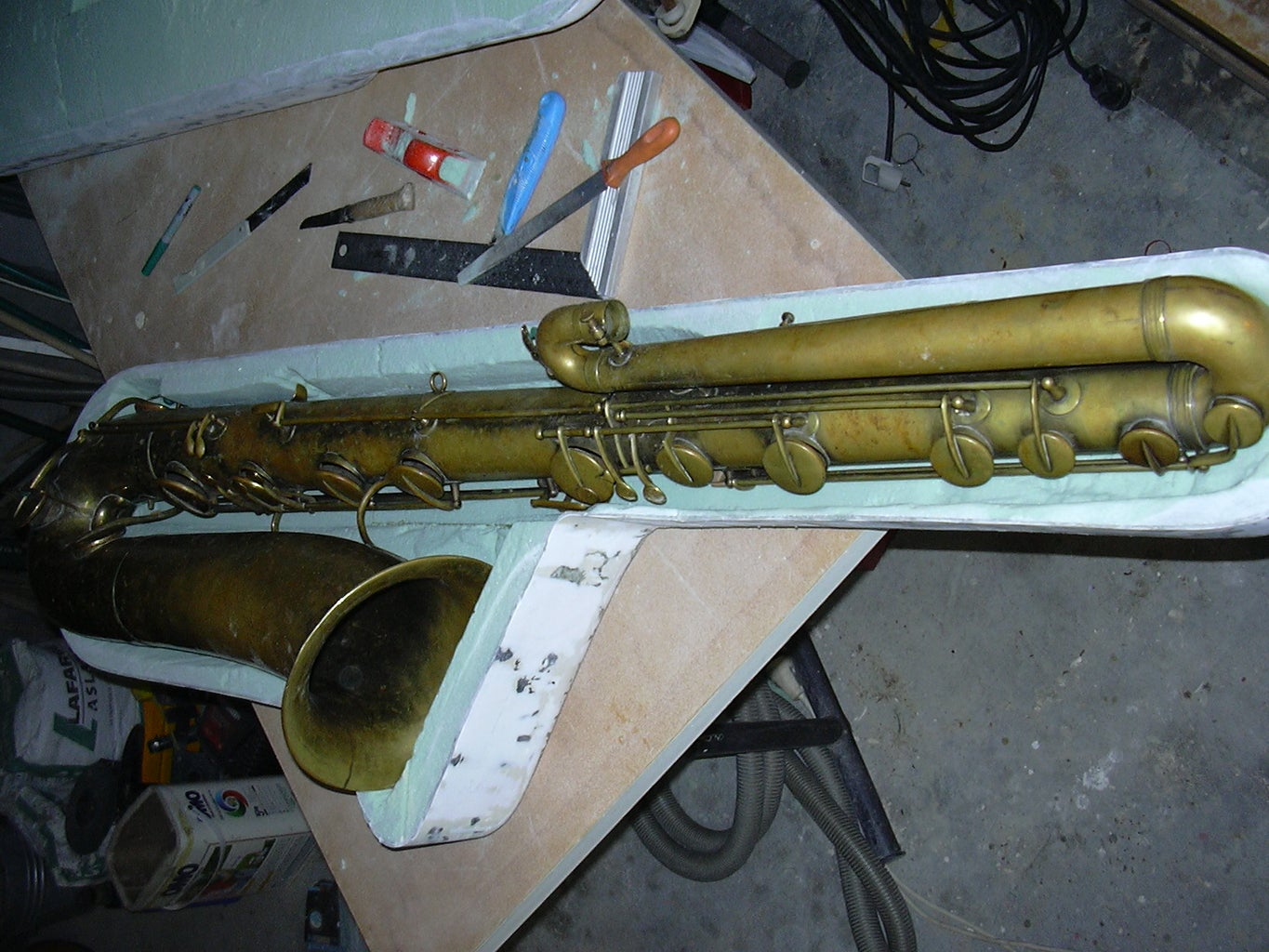 Carve the Location of the Sax