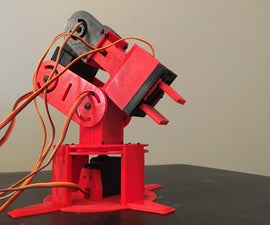3D Printed Arduino Based Robotic Arm