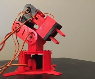 3D Printed Arduino Based Robotic Arm