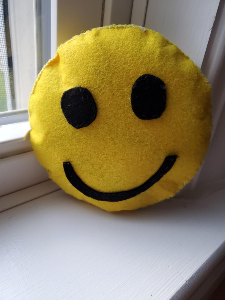 Double Sided Emoji Pillow