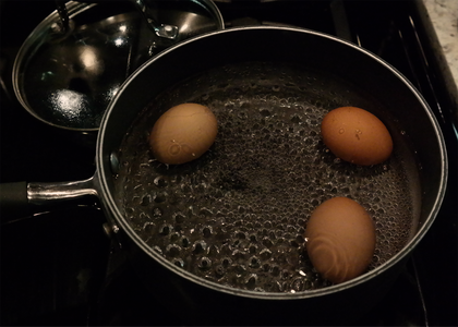 Making the Perfect Soft-boiled Eggs