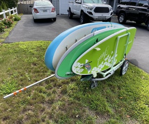 Stand Up Paddleboard Handcart Trailer