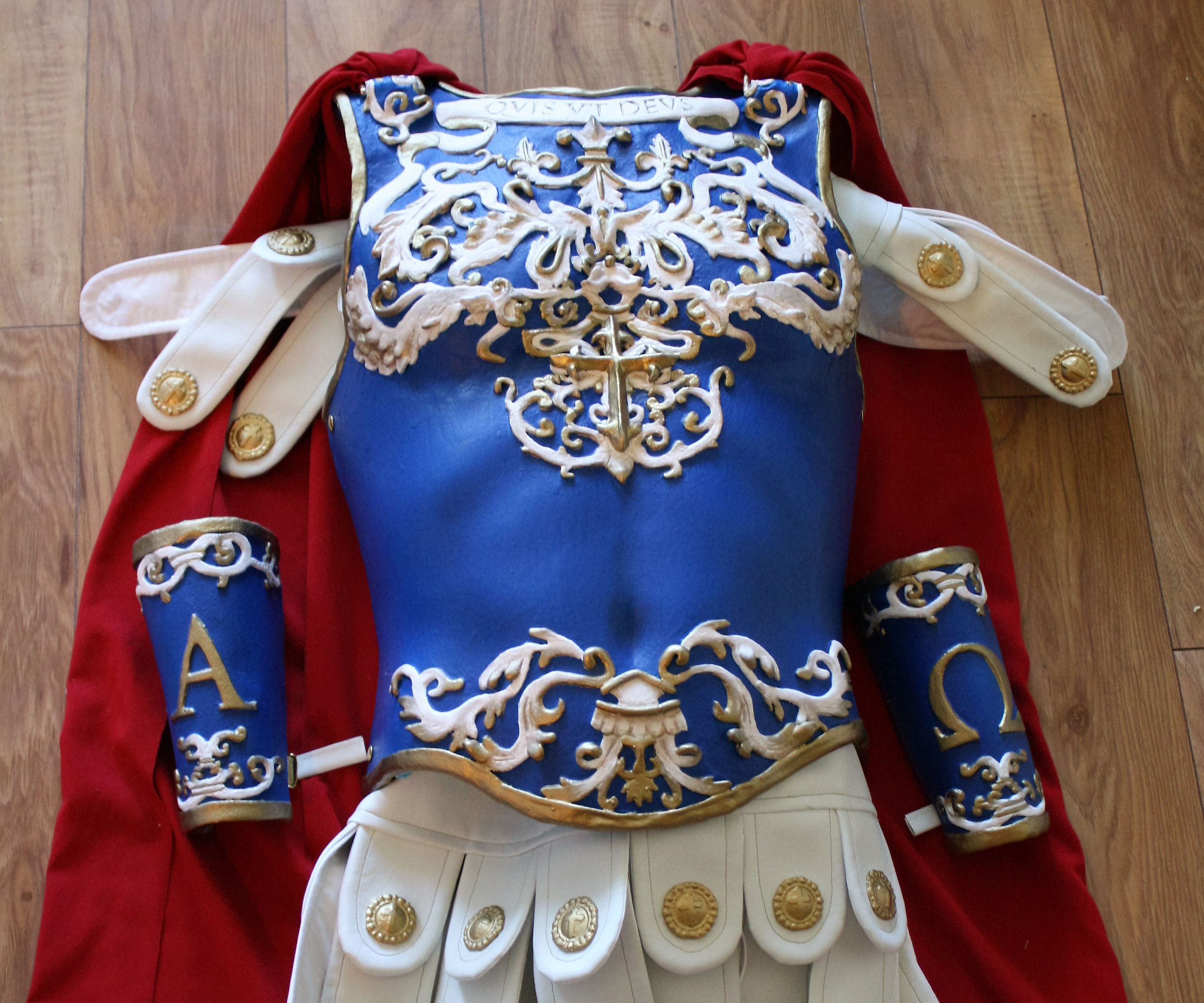 Angelic Armour: Worbla Breastplate and Cloth Gambeson