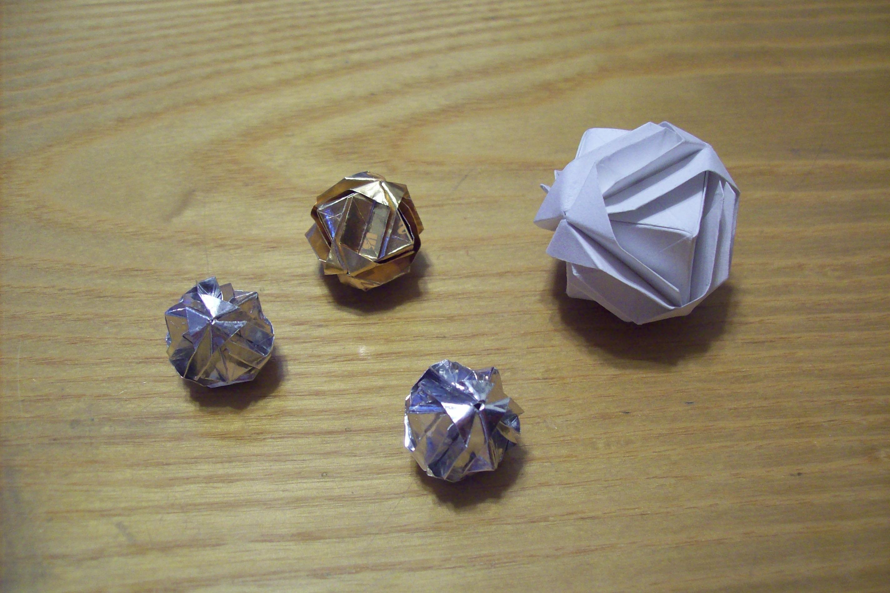 Decorative Origami Ball