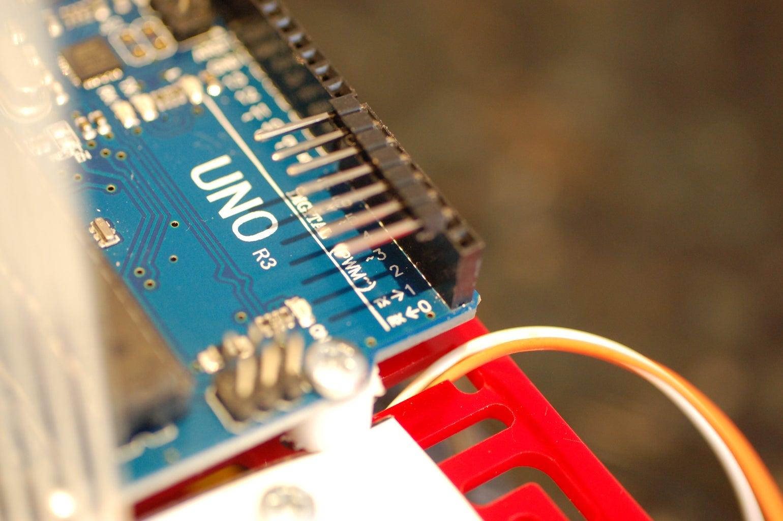 Attach the Arduino Uno