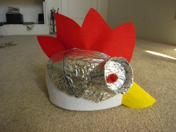 Robot Chicken Costume