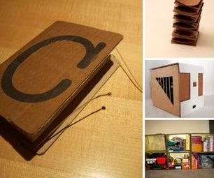 Carton Cardboard Art