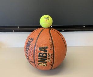 Ball Drop Momentum Demonstration