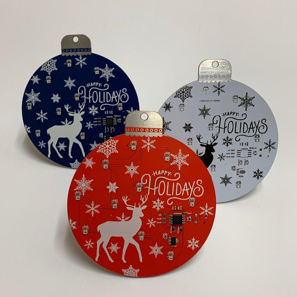 Holiday Ornament PCB