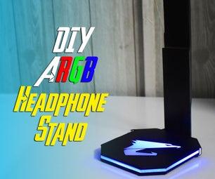 DIY ARGB游戏耳机支架使用丙烯酸