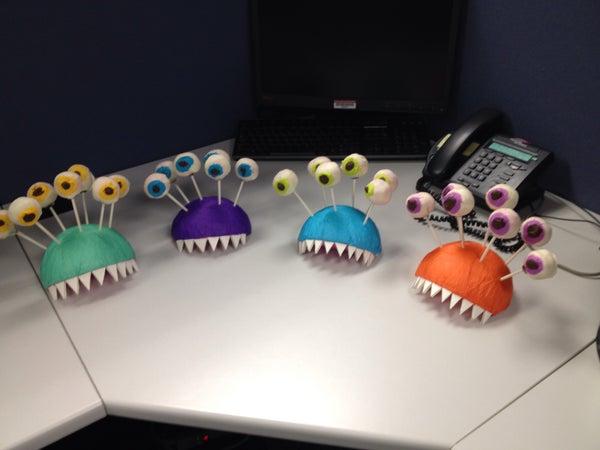 Cake Pop Monster Heads