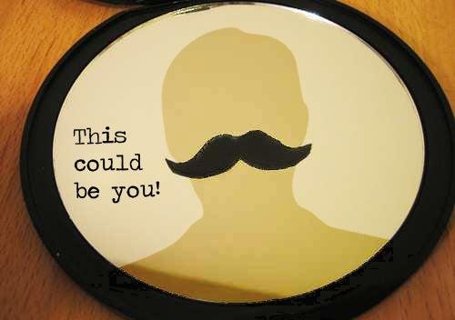 Mustache Mirror