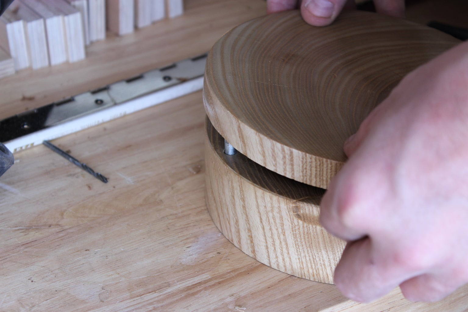 Finish the Cellar by Attaching the Lid