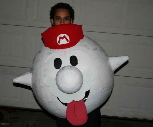 Boo Mario Costume