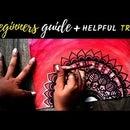 Watercolor Mandala for Beginners + HELPFUL TIPS