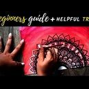 Watercolor Mandala for Beginners + HELPFUL TIPS