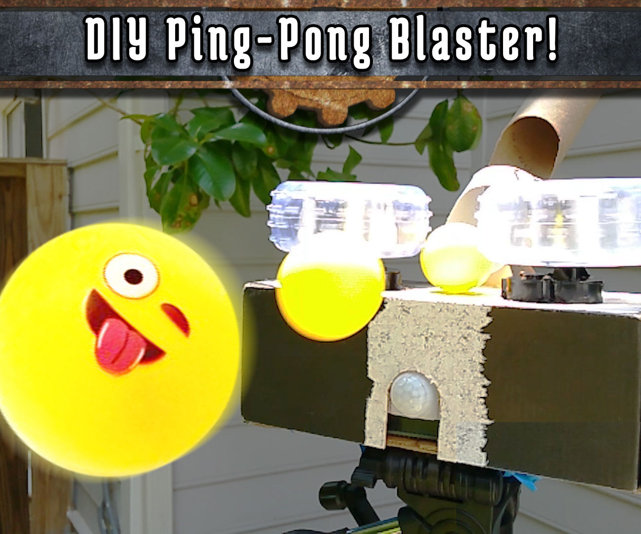 Turn an Old RC Car Into a Ping Pong Ball Blaster!