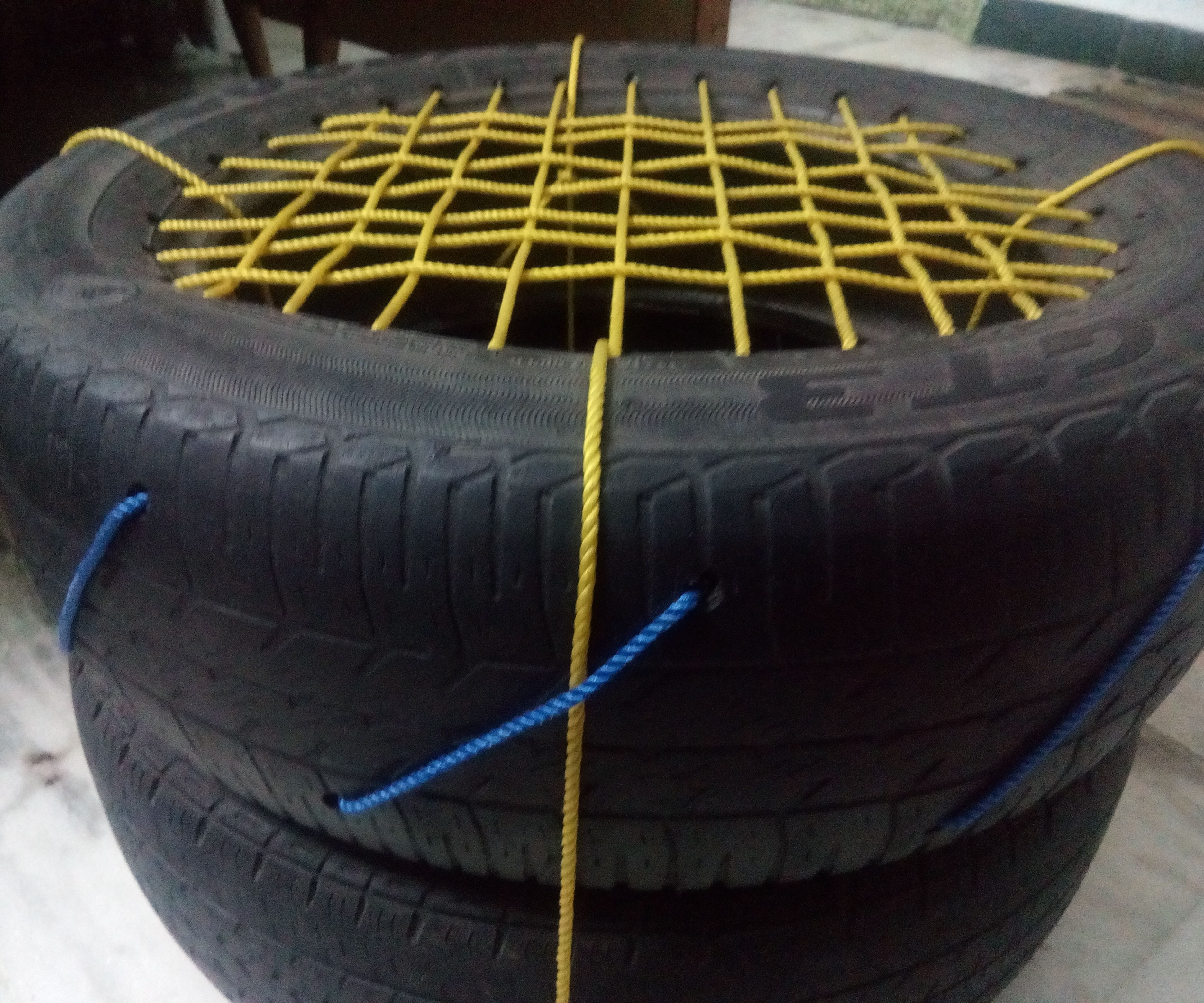 Tyre Chair (Simple and Easy)