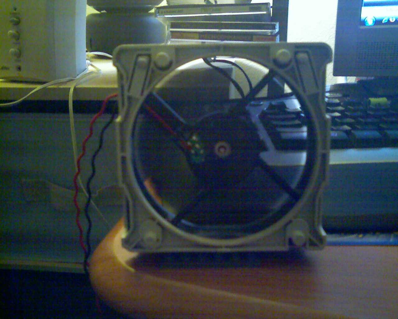 USB Fan Out Of Old Computer Fan