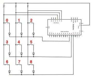 Wire Buttons on Arduino Shield - Part 2