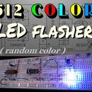 512 Color LED Flasher (random)