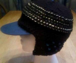 Crochainmaille Winter Cap