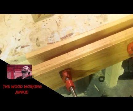 Making a Bar Clamp Moxon Vise