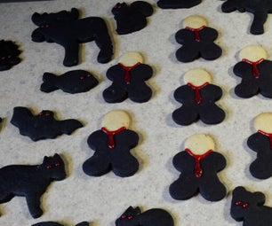 Slender Man and Woodland Shadow Creatures Cookies