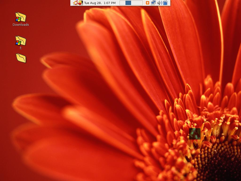 "Create an ""Invisible"" desktop shortcut in Ubuntu"