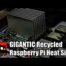 Recycled Raspberry Pi Heat Sink