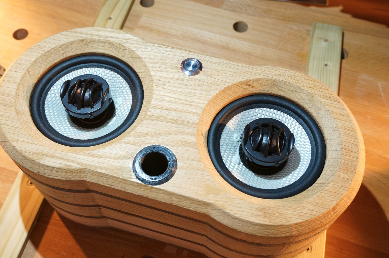 Finishing the Speaker Box