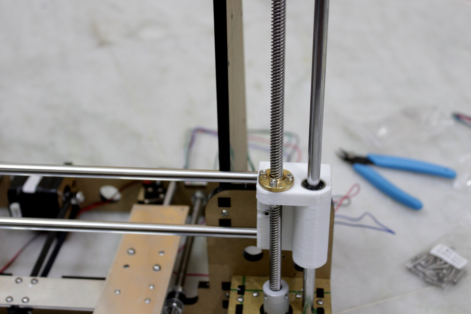 X Axis Rails and Timing Belt