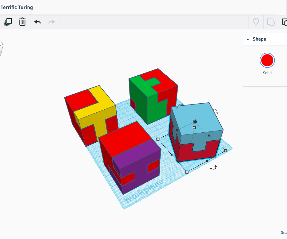 Puzzles With TinkerCad