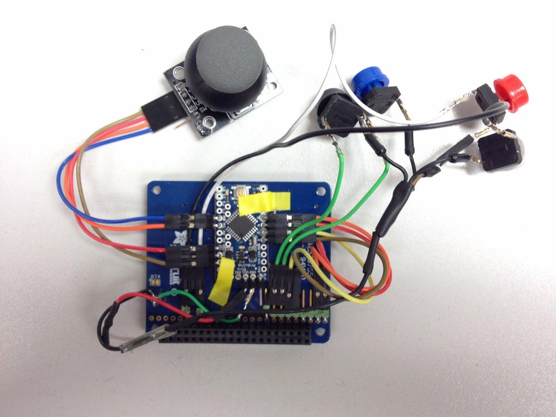 Custom Games Controller - Buttons
