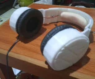 DIY 3D Printed Headphone