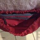 Drawstring bag with pencil bag