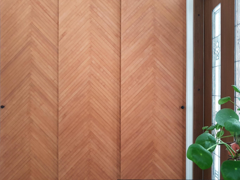 Wood Strip Sliding Doors From Leftover Planks (Easy & Ecological!)