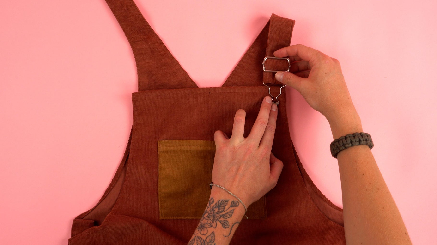 Adding Strap Buttons
