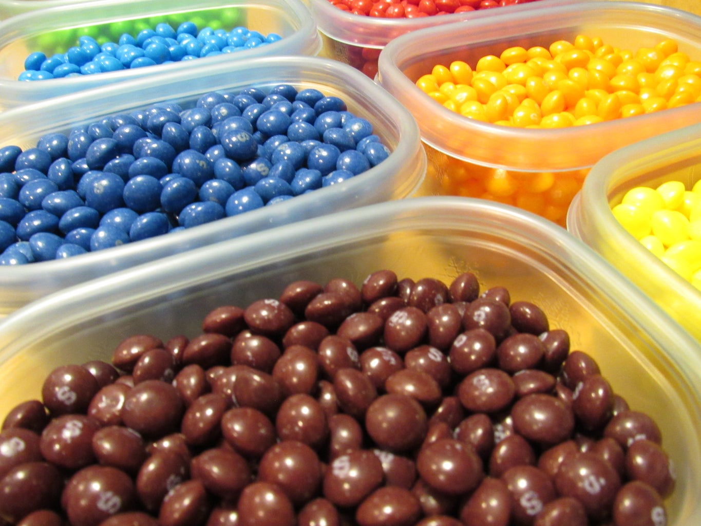 Sort Skittles by Color