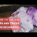 Super Easy Tie and Dye T-shirt Tutorial for Beginners