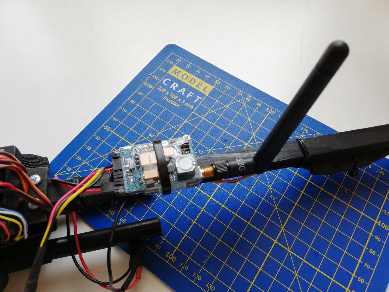 Adding a Video Transmitter (Optional)