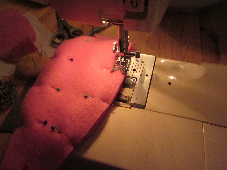 Begin Sewing
