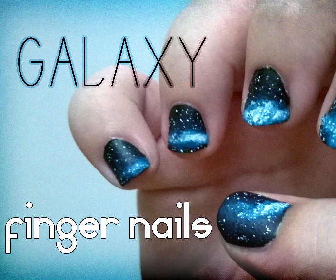 Galaxy Fingernails
