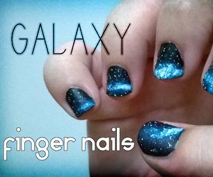 Galaxy Fingernails