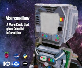 Marsmellow - a Mars Clock Which Gives Celestial Information
