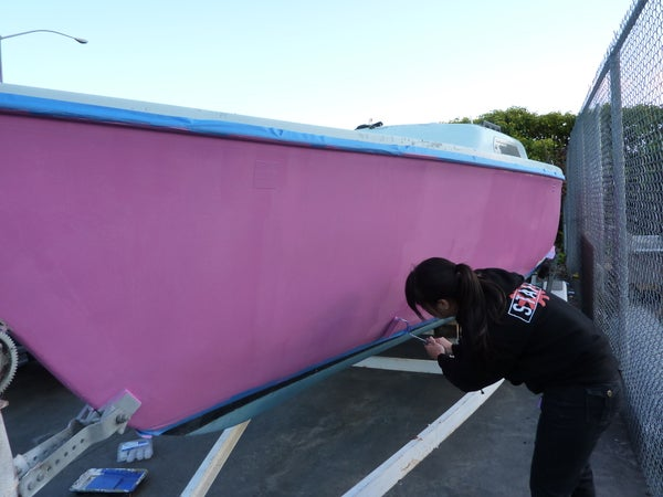 Painting a Boat!