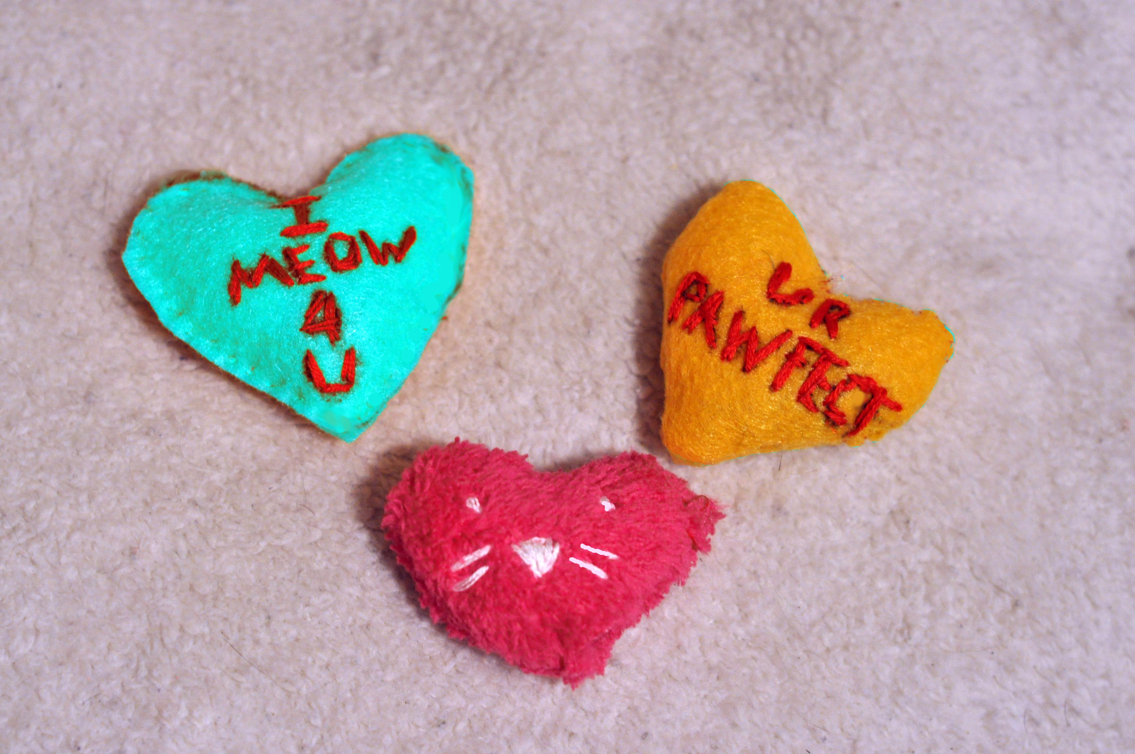 Valentine's Day Cat Toys
