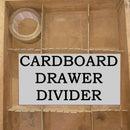 Adjustable Closet Drawer Divider